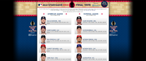 2014 All Star Game Final Vote   MLB.com  Events