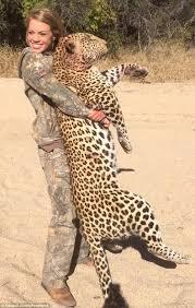 Kendall Jones Leopard