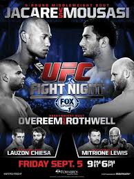 UFC Fight Night jvsm