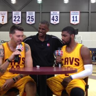 Mike Miller David Aldridge Kyrie Irving