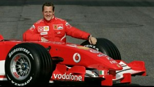 Michael Schumacher F1 Racing