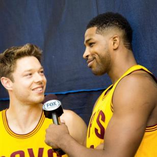 Tristan Thompson Interviews Matthew Delladova