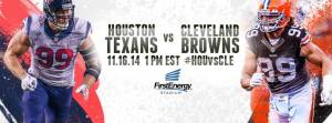 Browns vs Texans