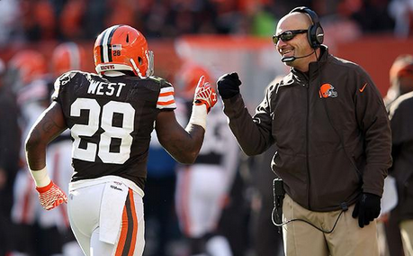 Browns T west Coach Pettine