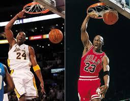 Kobe Jordan Dunk