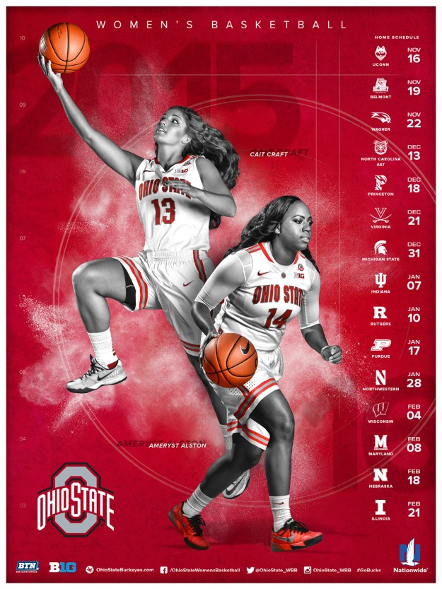 Ohio State WBB Schedule