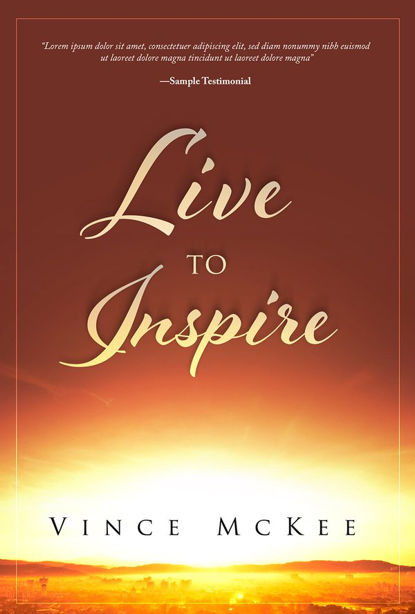 Vince Mckee Live To Inspire